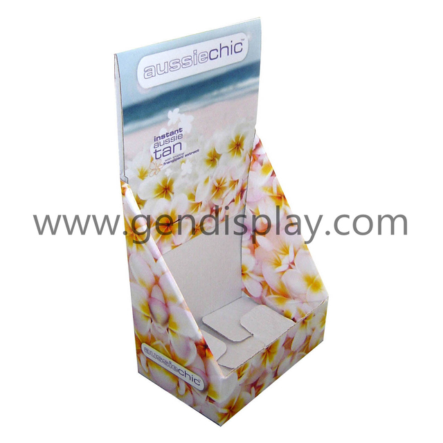 Cardboard Counter Tea Display Box, Counter Display Stand(GEN-CD042)