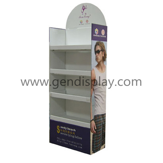 Cardboard Garments Display, Floor Display Stands(GEN-FD140)