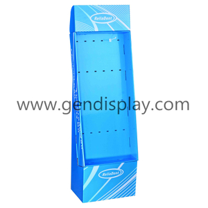 Cardboard Hooks Display Stand, Pop Hooks Display(GEN-HD068)