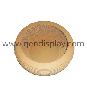 Corrugated Paper Bowl For Cat, Cat Toys(GEN-CS011)