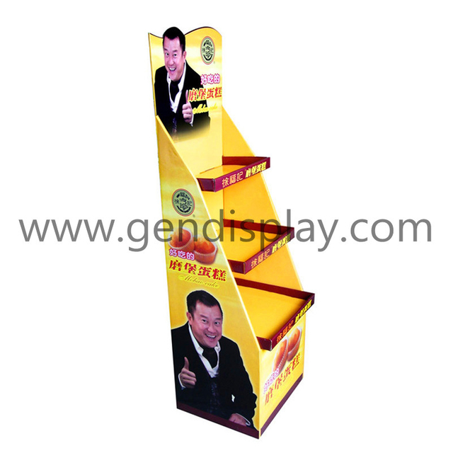 Cake Display Stand, Custom Snacks Floor Display (GEN-FD023)