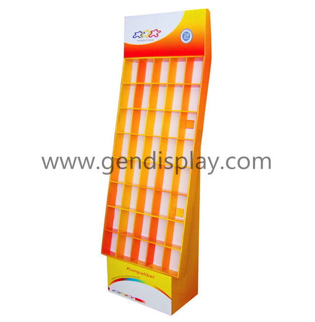 Pockets Display Shelf, Floor Cells Display Stand (GEN-CP004)