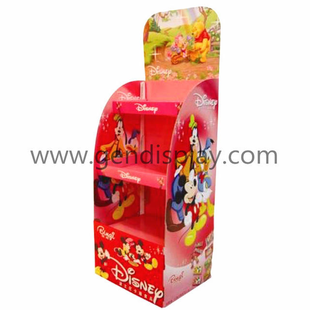 Cardboard Toys Display Shelf, POS Toys Display(GEN-FD151)