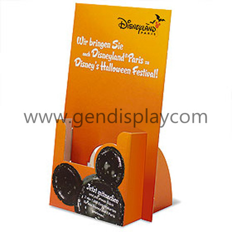 Custom Cardboard Brochures Counter Display Stand(GEN-CD119)
