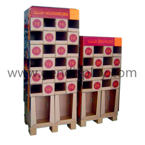 Cardboard Pallet Display ,Supermarket Pallet Display (GEN-PD012)
