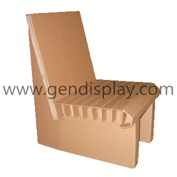 Custom Pop Paper Cardboard Furniture (GEN-CF001)