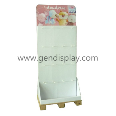 Custom Two Sides Cardboard Toys Hooks Display (GEN-HD020)