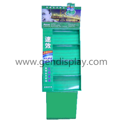 Cardboard Display Stand,Pos Display Shelf (GEN-FD111)