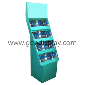 Cardboard Books Floor Display, Books Display Stand (GEN-FD326)