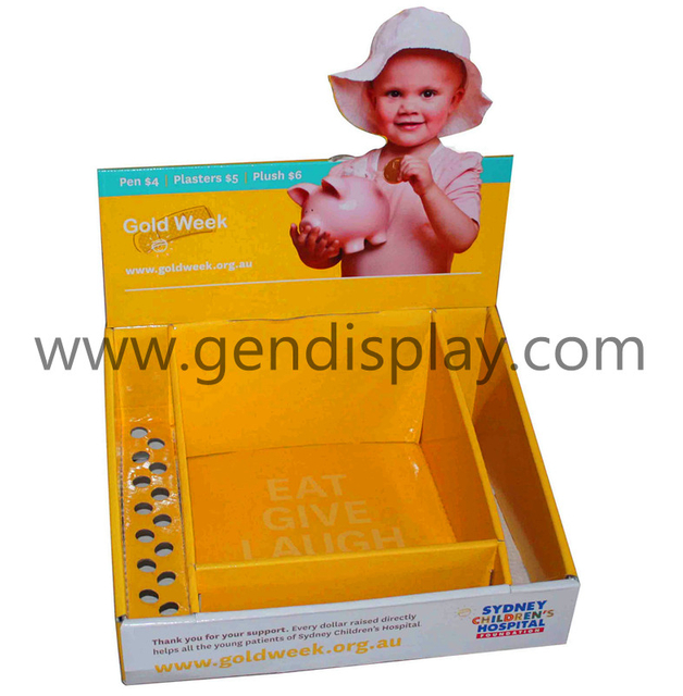 Promotional Toys Cardboard Counter PDQ Box (GEN-PDQ005)
