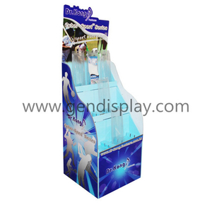 Promotion Toys Floor Displaly ,Cardboard Toys Display Stand (GEN-FD029)
