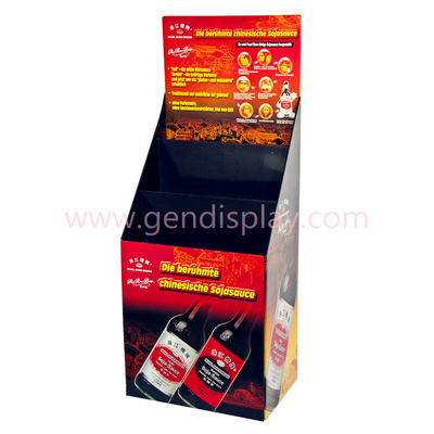 Corrugated Paper Floor Display, Pop Display Stand(GEN-FD127)