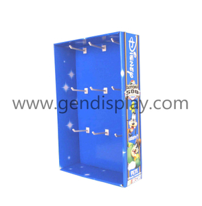 Cardboard Toys Wall Hanging Display, Sidekick Display (GEN-SK010)