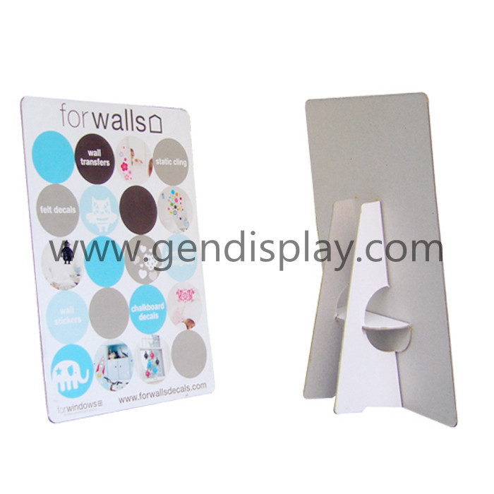 Custom Cardboard Wallpaper Standee Display Unit(GEN-SD001)