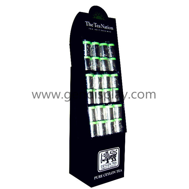 Cardboard Compartment Display, Pockets Display Rack (GEN-CP048)