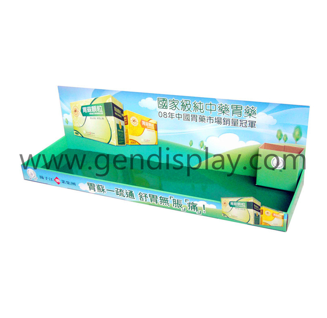 Cardboard Counter Medicine Display,Display Box (GEN-CD015)