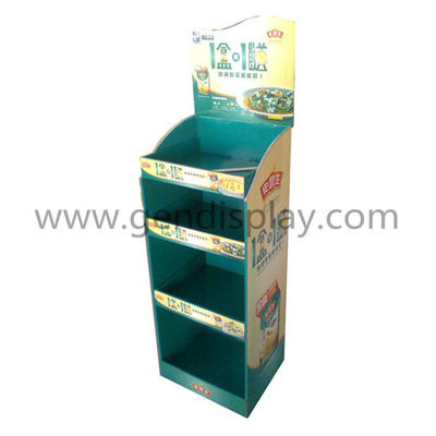 Cardboard Floor Display Shelf, Floor Display Stand (GEN-FD320)