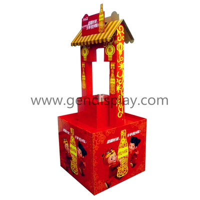Corrugated Pallet Display,Pop Pallet Display (GEN-PD039)