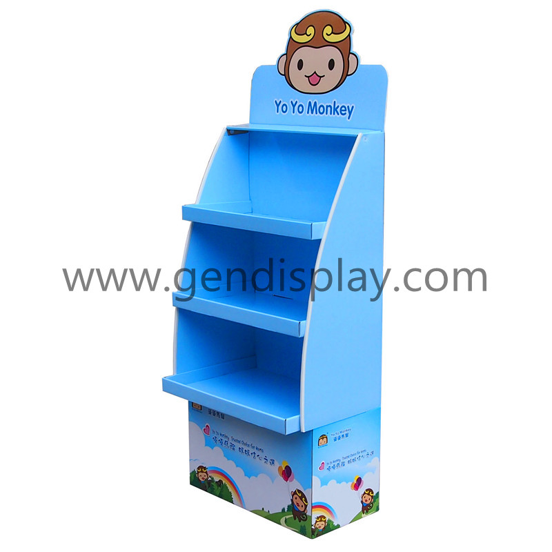 Promotional Floor Display Stand For Baby Bottle(GEN-FD272)