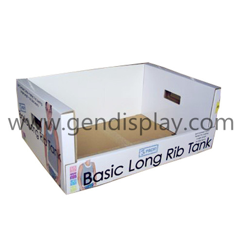Promotional Cardbaord Garments Display Box (GEN-PT002)