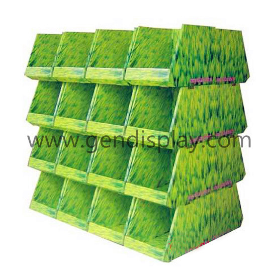 Corrugated Pallet Display Shelf ,Pallet Display(GEN-PD042)