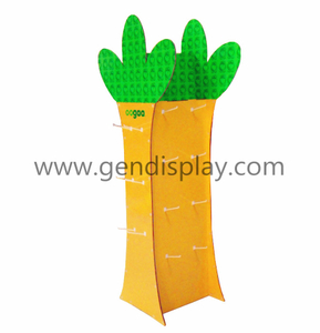 Cardboard Hooks Display ,Custom Tree Display Stand (GEN-HD009)